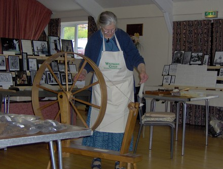 A picture for Spinning-Weaving-and-Dyeing-with-Anne-Lander