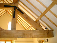 Oak beams image