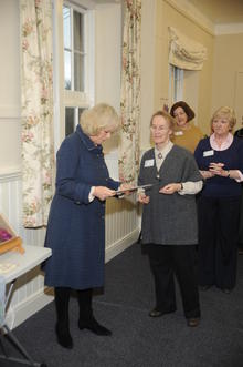 Click for a larger image of HRH The Duchess of Cornwall